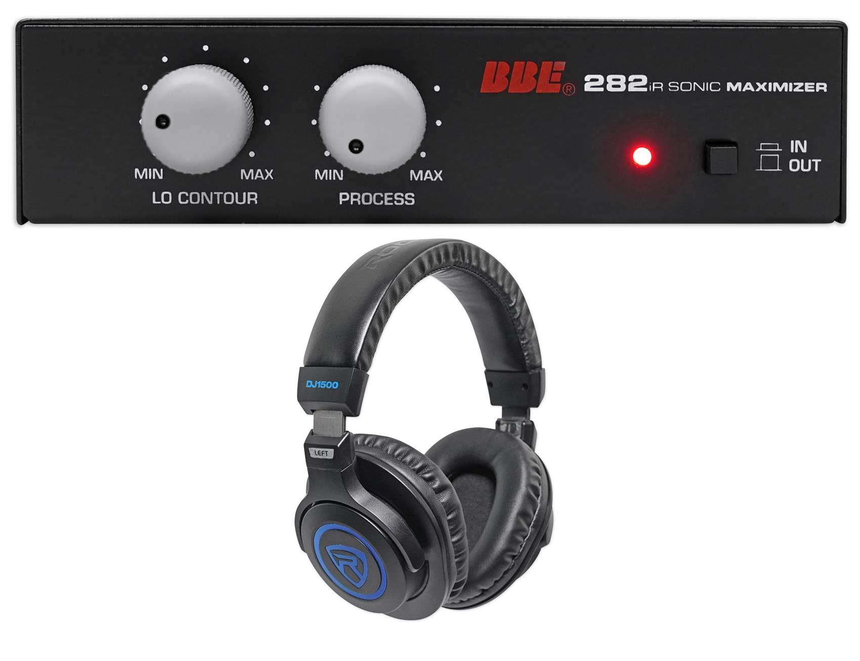 BBE 282IR Desktop Sonic Maximizer w/RCA Inputs/Outputs + Free Headphones