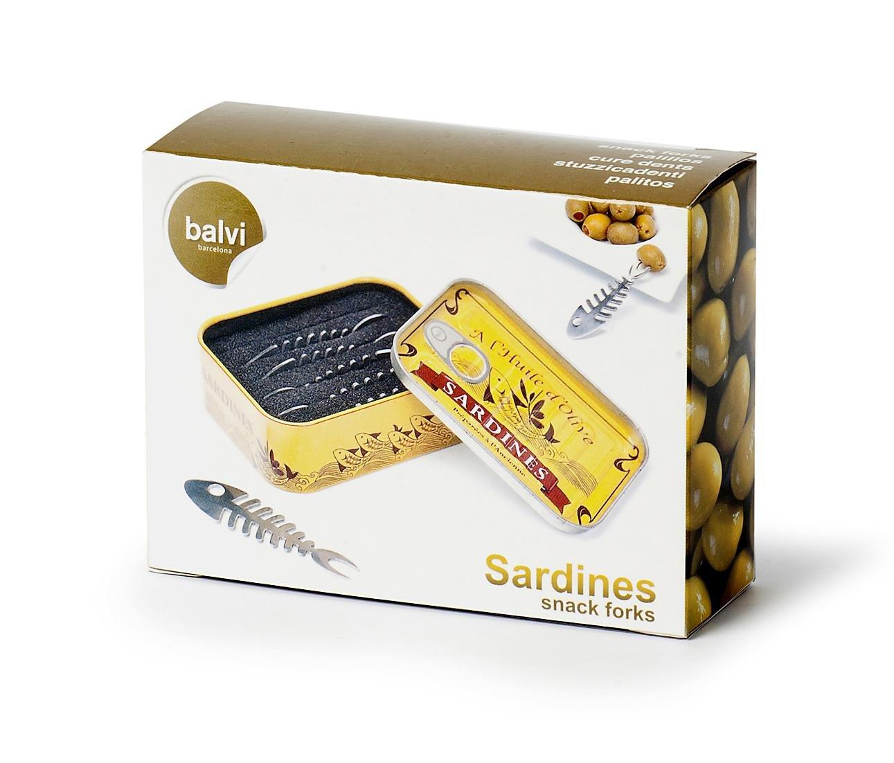 Snack Piekser Sardinen Dose 6 Stück