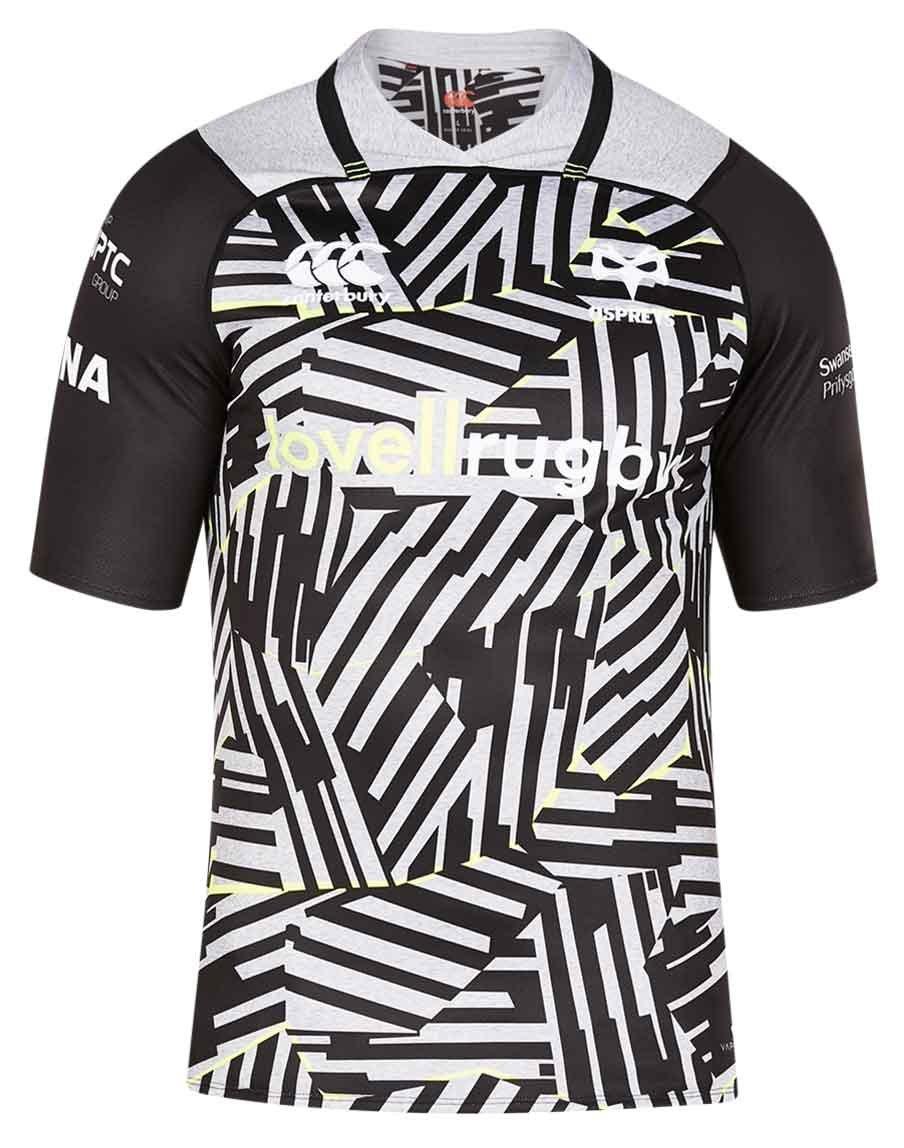 Ospreys Vapodri+ SS European Rugby Jersey 2017