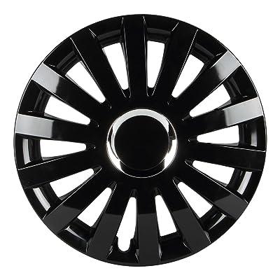 "Pilot Automotive WH550-15GB-B Performance E Series 15"" Wheel Cover, Gloss Black Finish, (Pack of 4): Automotive"