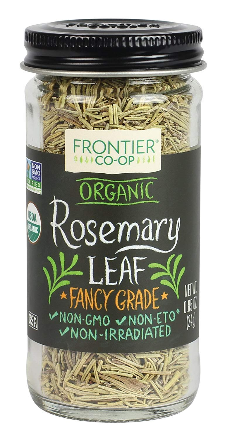 Natural Products Rosemary Leaf, Og, Whole, 0.85-Ounce (2 Pack) by Frontier