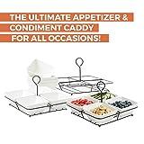 4 Piece Condiment Server Set, Tabletop Serving