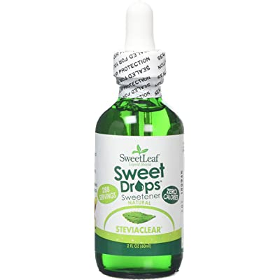 SWEET LEAF - Stevia Clear Liquid Extract - 2 fl. oz. (60 ml)