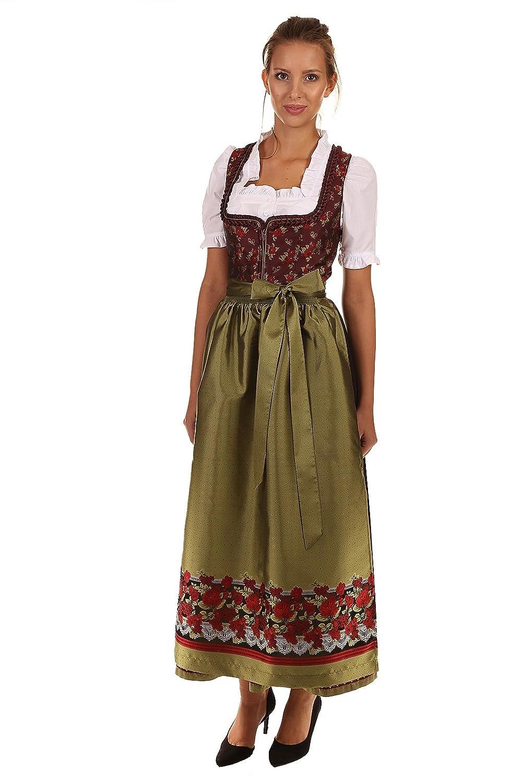 Turi Landhausmode Damen Dirndl festlich D521029 1323 Maria bordeaux