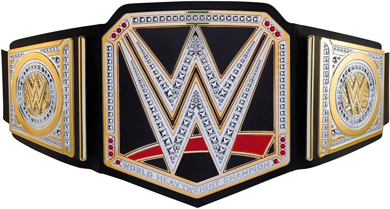WWE World Heavyweight Championship Belt, Frustration-Free Packaging by WWE