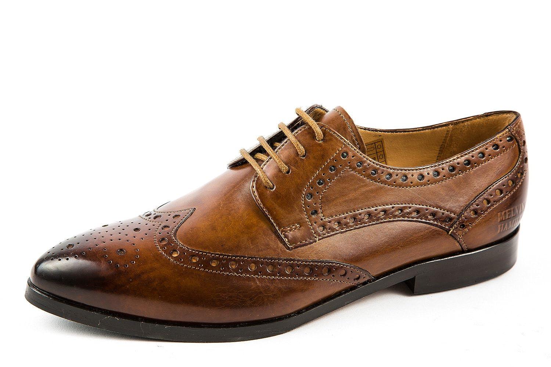 Melvin & Hamilton MH15-316 - Zapatos de Cordones de Piel Lisa para Mujer Marrón Marrón 38 EU 40 EU