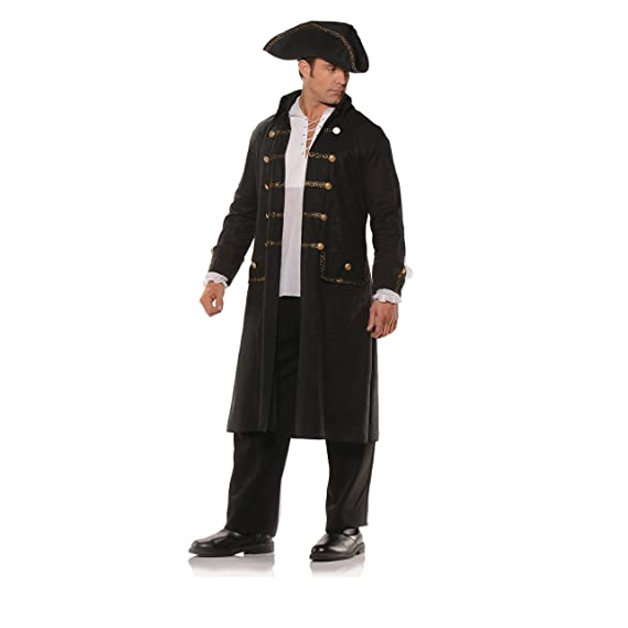 Men's Steampunk Clothing, Costumes, Fashion Pirate Coat Set $48.98 AT vintagedancer.com