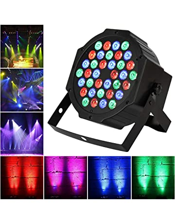 TENKOO LED Par Stage Light, 36 LEDs RGB Sound Activated Party Lights 512 DMX 7