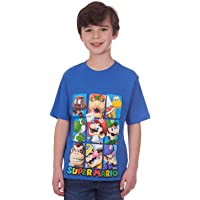 Nintendo Little Boys Super Mario Characters T-shirt