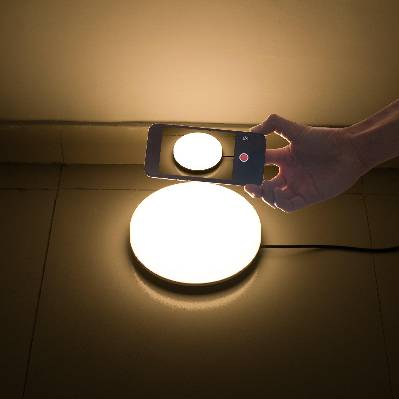 Mince Led De Moderne Lampe Rond Ouesen Dimmable 18w Plafond tQsdhr