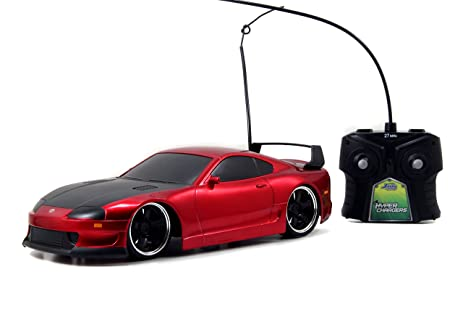 Jada Toys HyperChargers Toyota Supra Tuner/Exotic Remote Controlled Vehicle  (1:16)