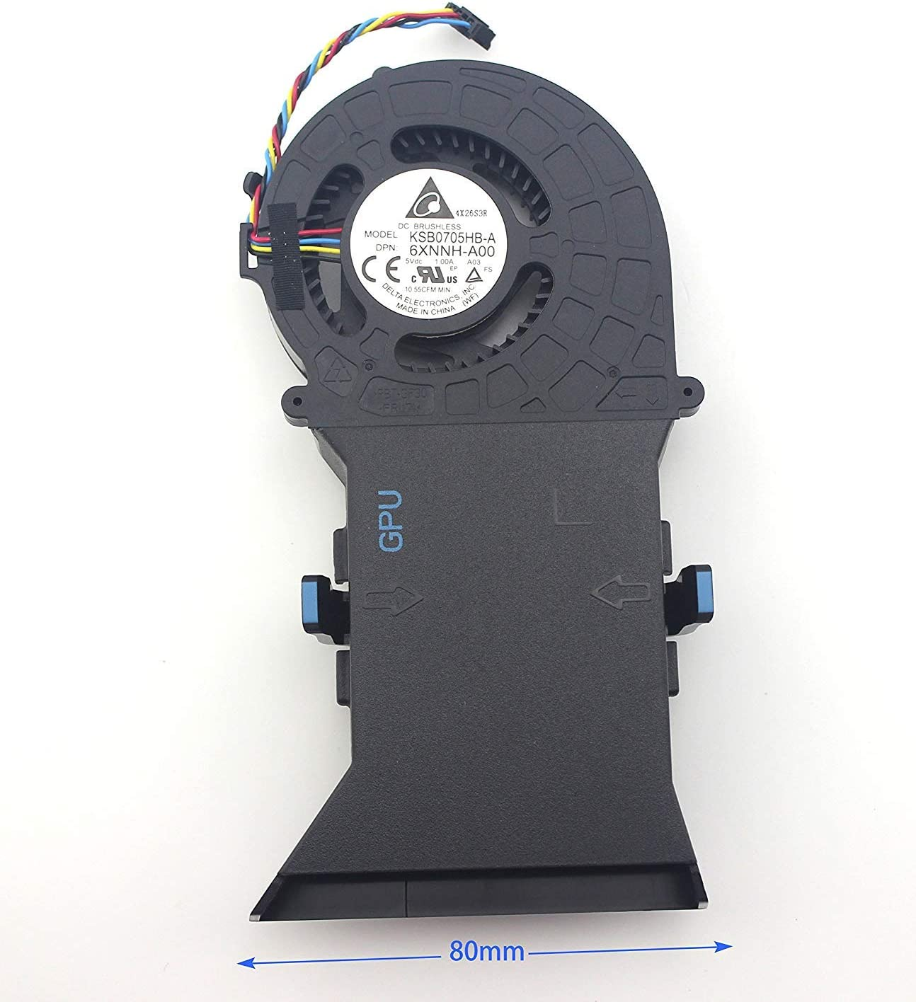 Original Genuine New for Dell Alienware Alpha R2 06XNNH KSB0705HB-A-6XNNH-A00 GPU Cooling Fan