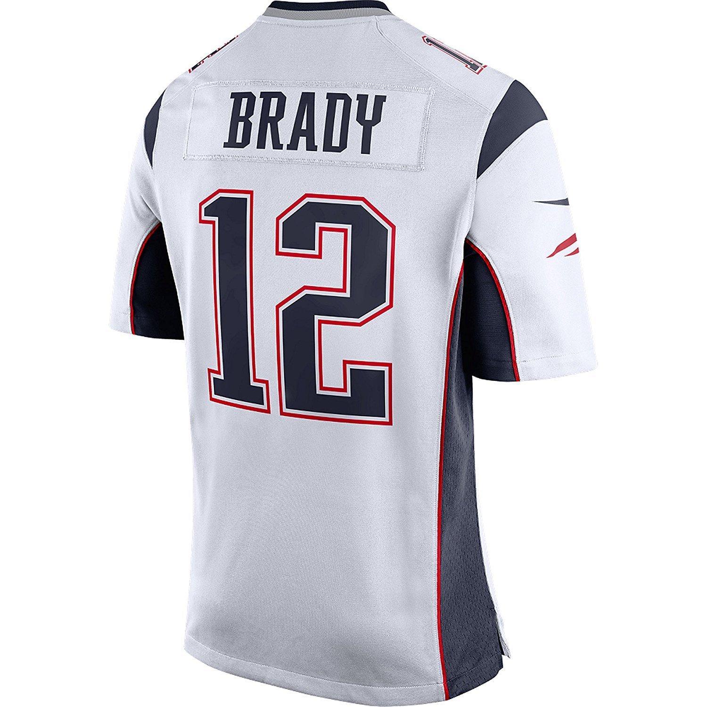 702de05f2c5 Tom Brady New England Patriots Super Bowl 52 (LII) Nike Bound Game Jersey,  White, XXL, Jerseys - Amazon Canada
