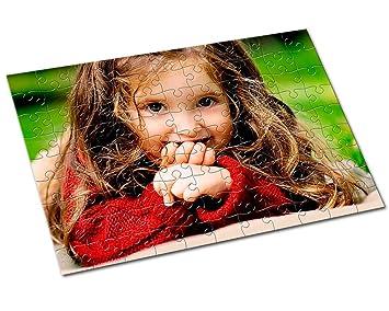 Kembilove Puzzle Personalizado con Foto – Máxima Calidad – Regalo Original para Cumpleaños Aniversario – Regalo para niños (Cuadrado con imán 25 ...