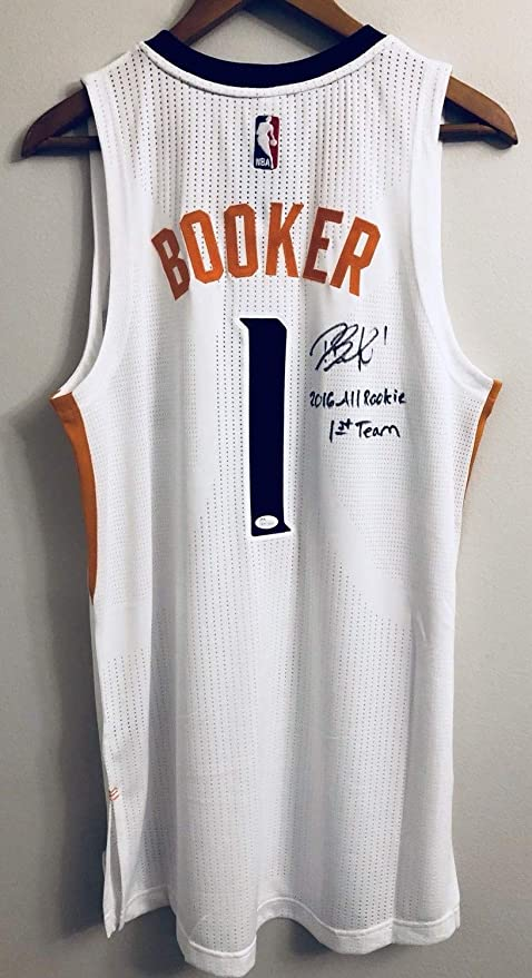 uk availability a333e 0e553 Devin Booker Autograph Authentic Autographed Signed ...