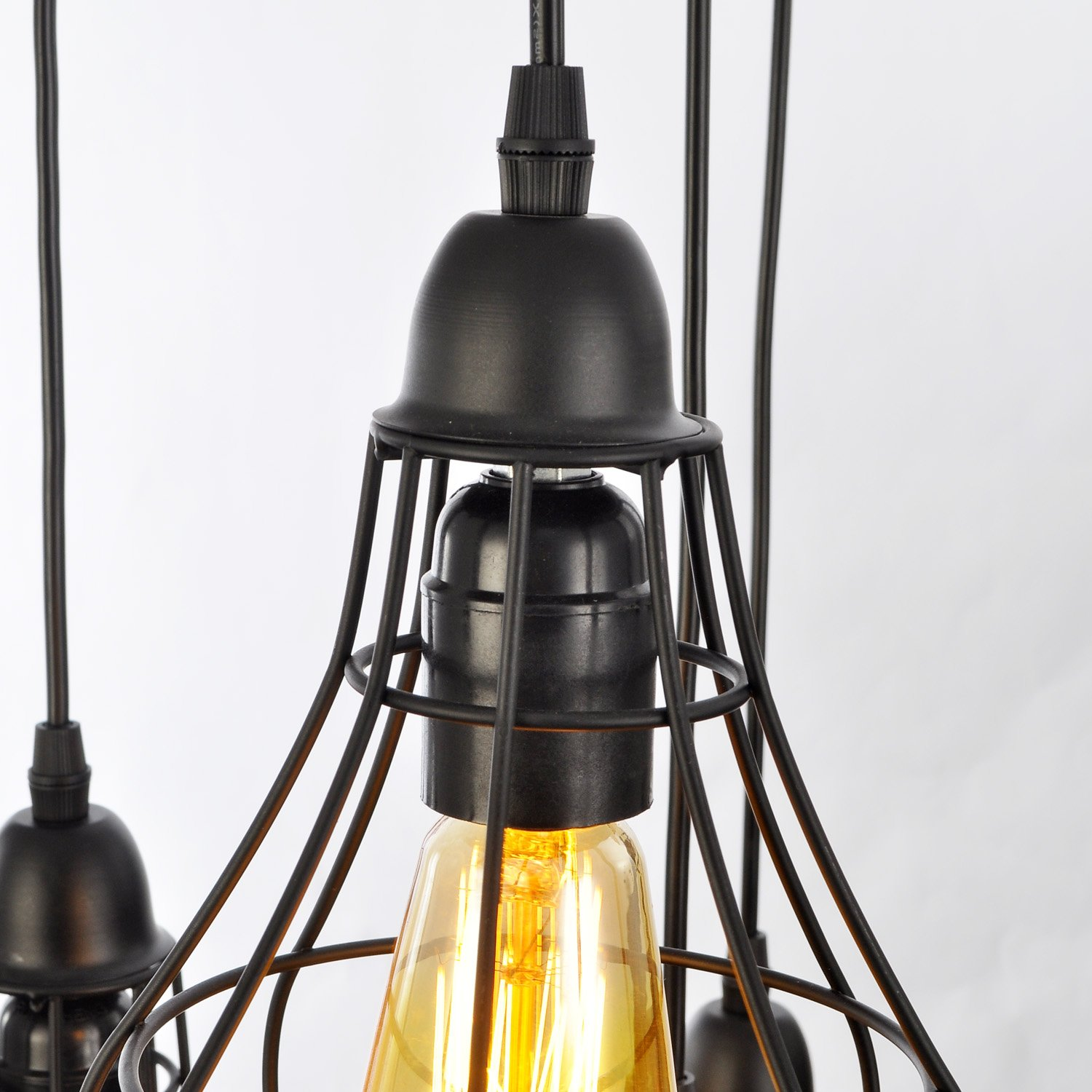 Unitary Brand Rustic Barn Metal Chandelier Max 200w with 5 Lights