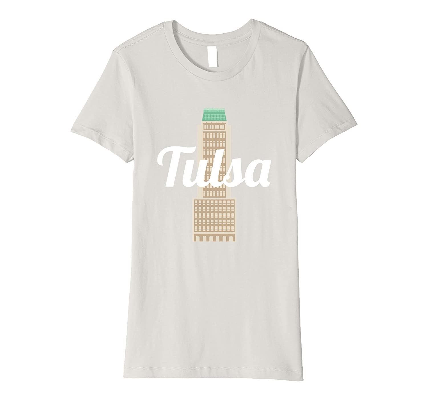 Amazon Ok Tulsa Mid Continent Tower T Shirt Clothing