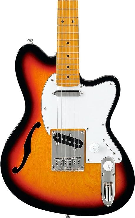 Ibanez Talman serie tm302hm Semi-Hollow guitarra eléctrica,
