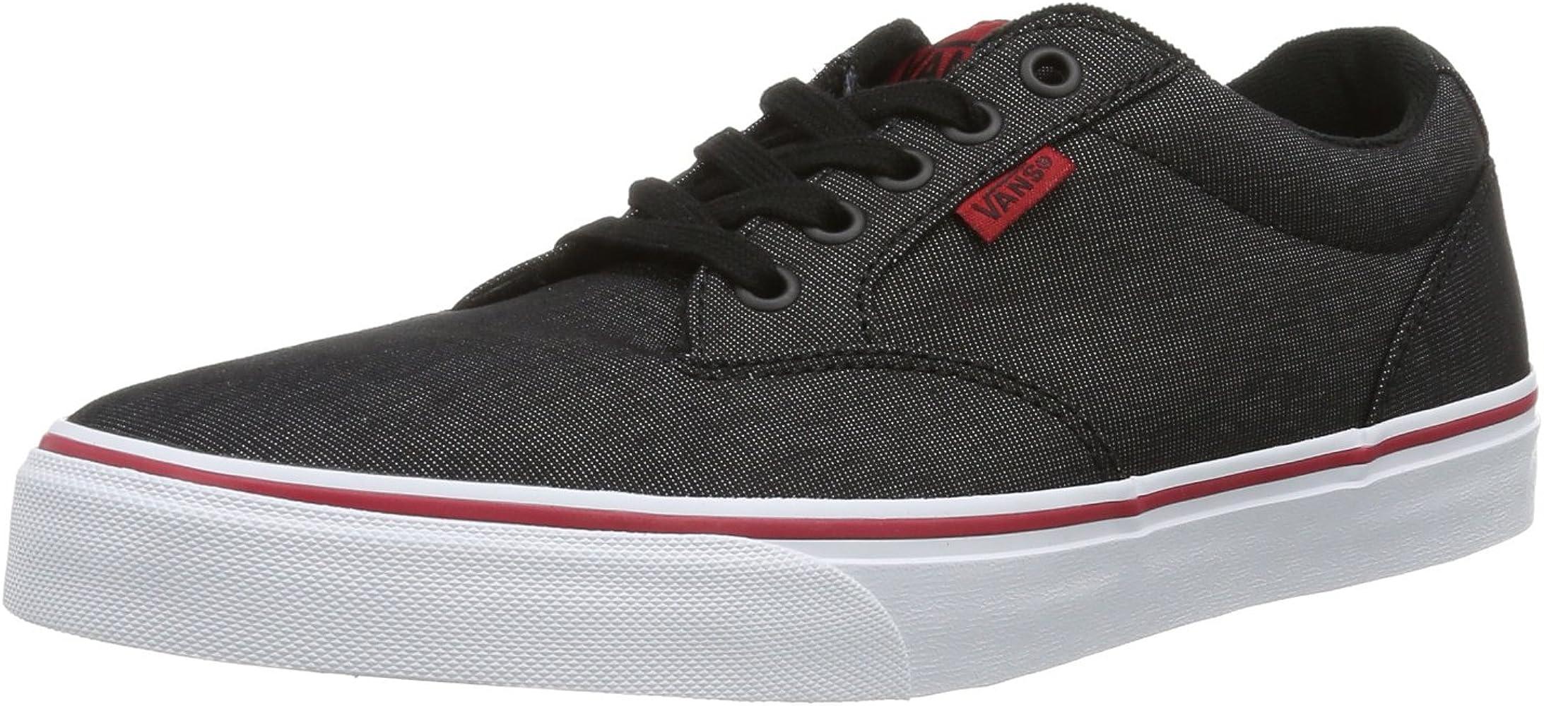Vans Black Winston Skate Shoes - Men