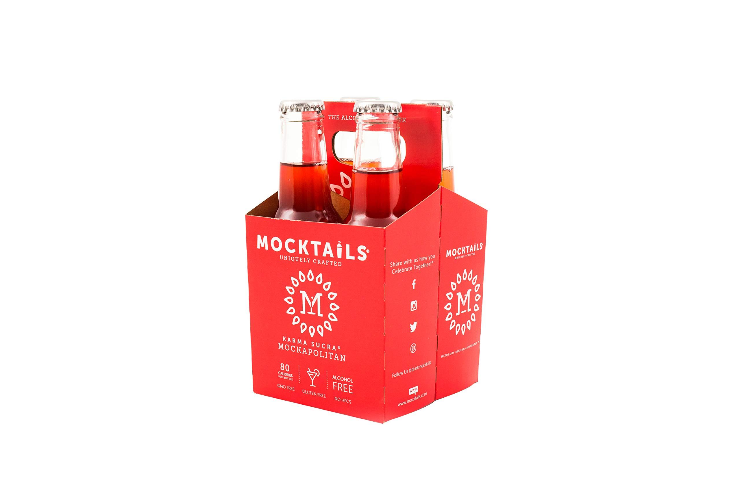 Mocktails Uniquely Crafted Alcohol Free Karma Sucra Mockapolitan, 6.8 fl. oz. (Pack of 24) by Mocktails (Image #3)