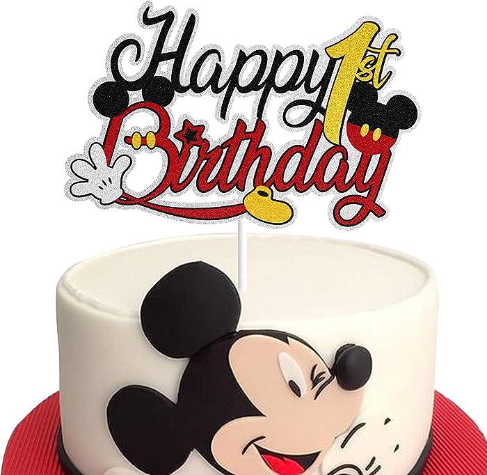 Top 10 Mickey Smash Cake Decor
