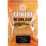 Kaimana Jerky - Teriyaki Ahi Tuna Jerky - 9 ounce - All Natural & Wild Caught Tuna Jerky. Made in USA. Quality Protein & High Omega-3's