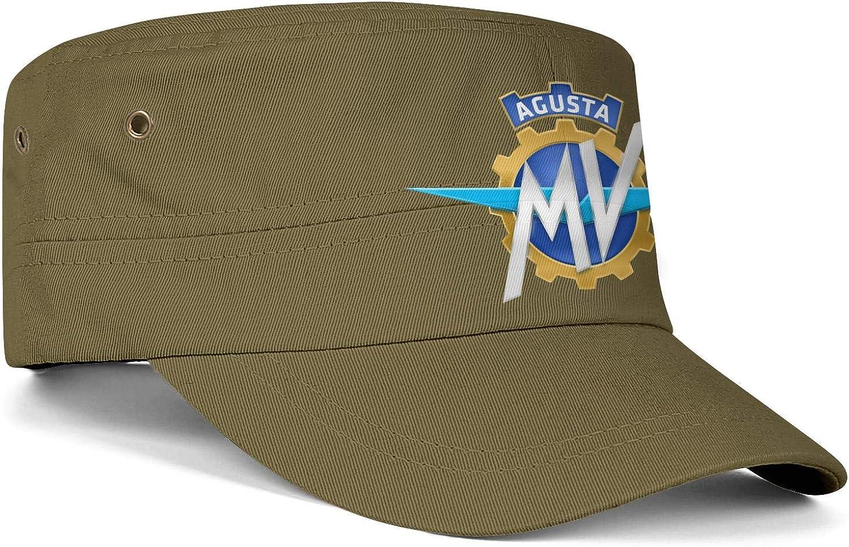 BOUFSDD MV Agusta Sticker Men Women Hats Snapback Military Cap Fitted Hat Soft Caps