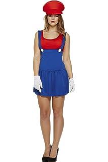 Party Central - Disfraz de Luigi para mujer: Amazon.es: Juguetes y ...