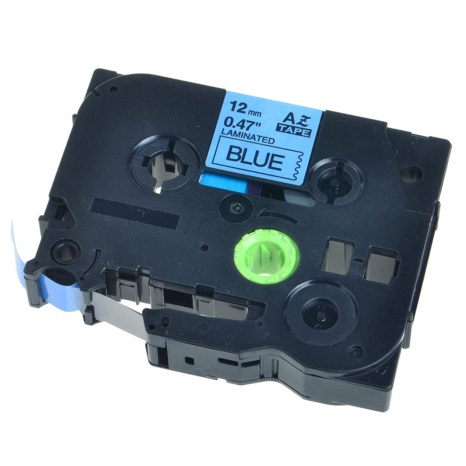 SuperInk Black on White 12mm label tape TZ 231 TZE-231 compatible for Brother P-Touch Series Printer