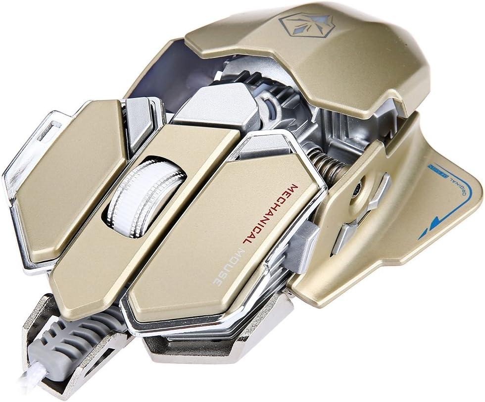 G10 250-4000 DPI LED Optical USB Mechanical Gaming Mouse