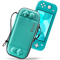 tomtoc Nintendo Switch Lite için ince çanta, taşıma çantası taşıma çantası, sert kabuk, Switch Lite konsol ve 8 oyun…