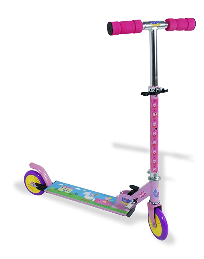 Peppa Pig - Big folding 2 wheels scooter (Amijoc 0880 ...