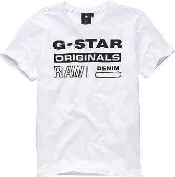G-STAR RAW Sq10036tee Shirt Camiseta para Niños