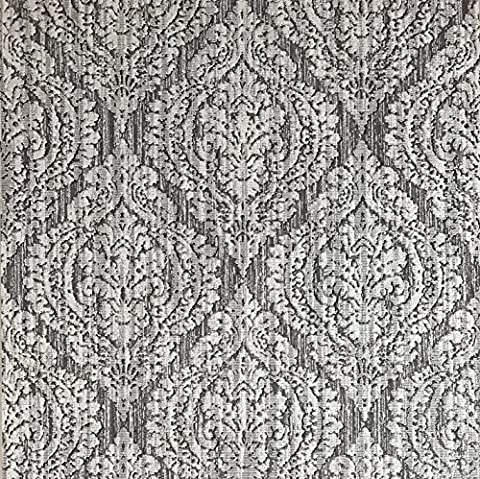 Slavyanski vinyl wallpaper gray silver rustic coverings textured old vintage retro diamond pattern double roll wallcovering wall paper decal decor textures embossed 3D washable modern stripes (Washable Wallpaper)