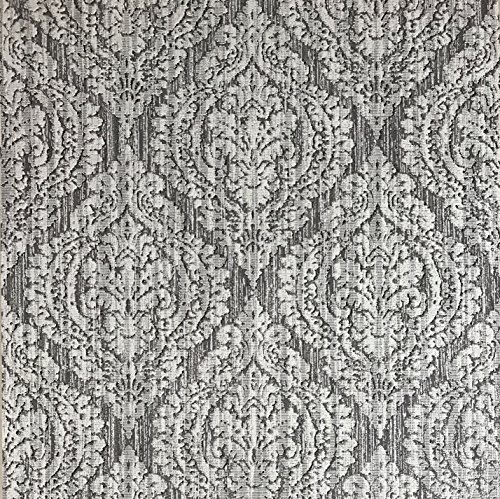 Slavyanski vinyl wallpaper gray silver rustic coverings textured old vintage retro diamond pattern double roll wallcovering wall paper decal decor textures embossed 3D washable modern stripes glitters - Gray Stripe Wallpaper