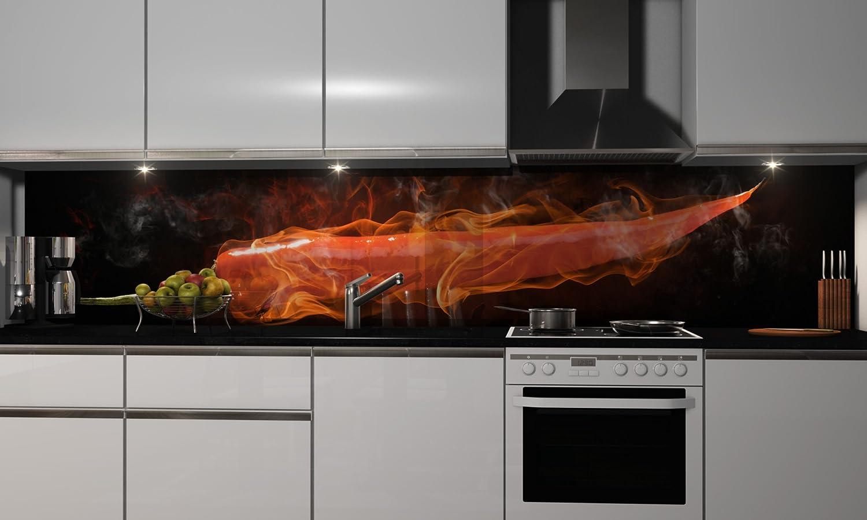 küchenrückwand folie selbstklebend heißer chili