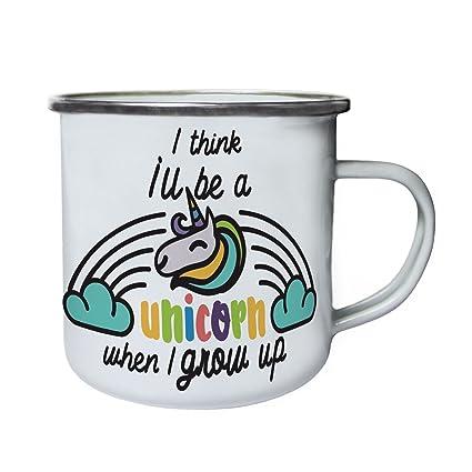 Taza de Unicornio Retro