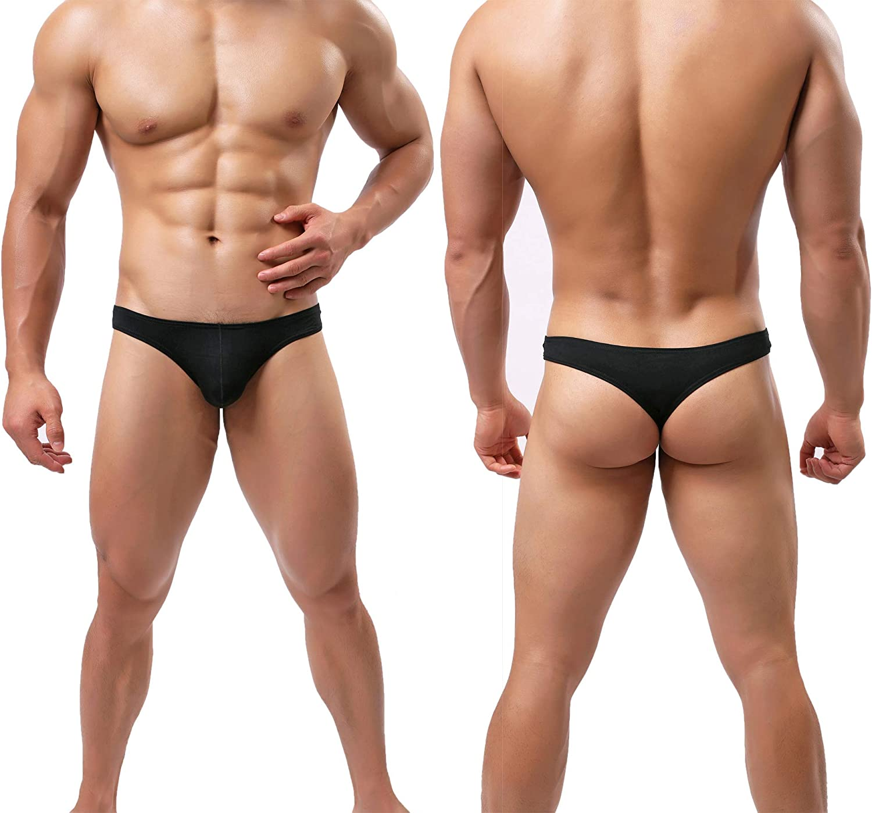 Mens Bikini Underwear Silky Modal Microfiber Briefs