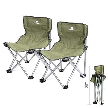 Amazon.com: Mossy Oak Mini silla plegable, taburete portátil ...