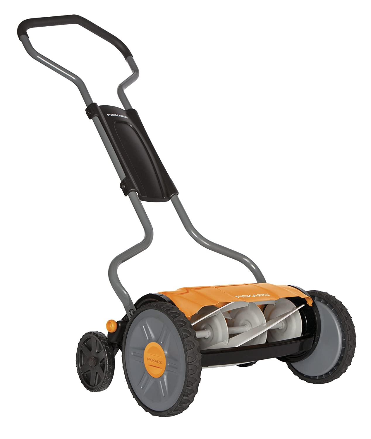 Fiskars 17 Inch StaySharp Plus Reel Mower (6207)