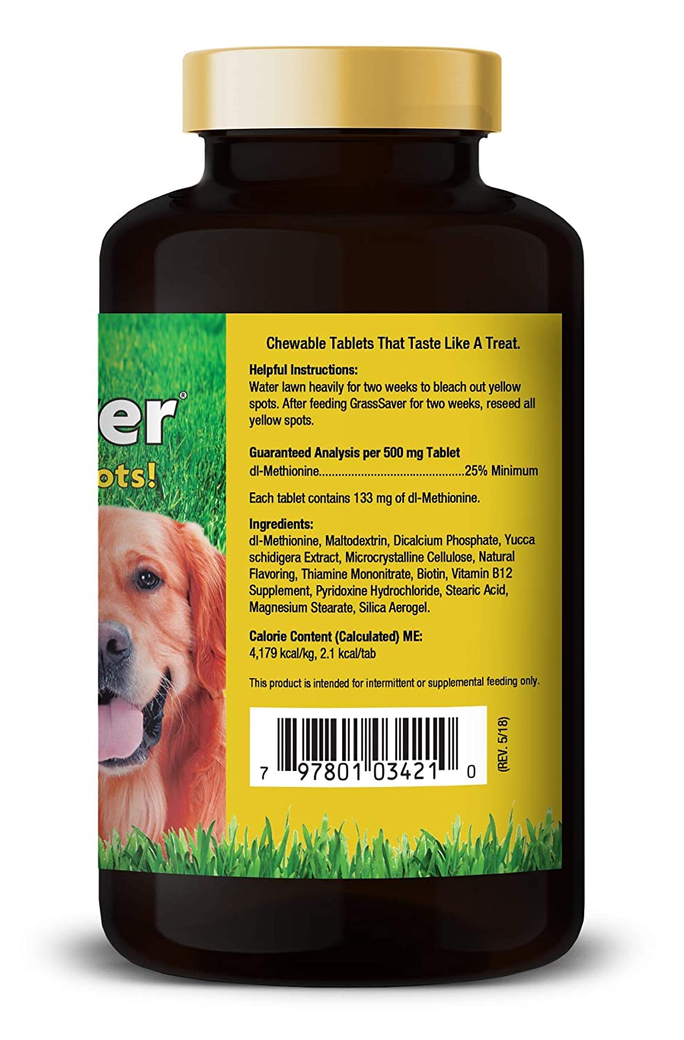 Made in the USA Stop the Grass Burn and Pee Stains with our Grass Be Green Solution Healthy Solutions For Pets No More Yellow Spots on Your Grass