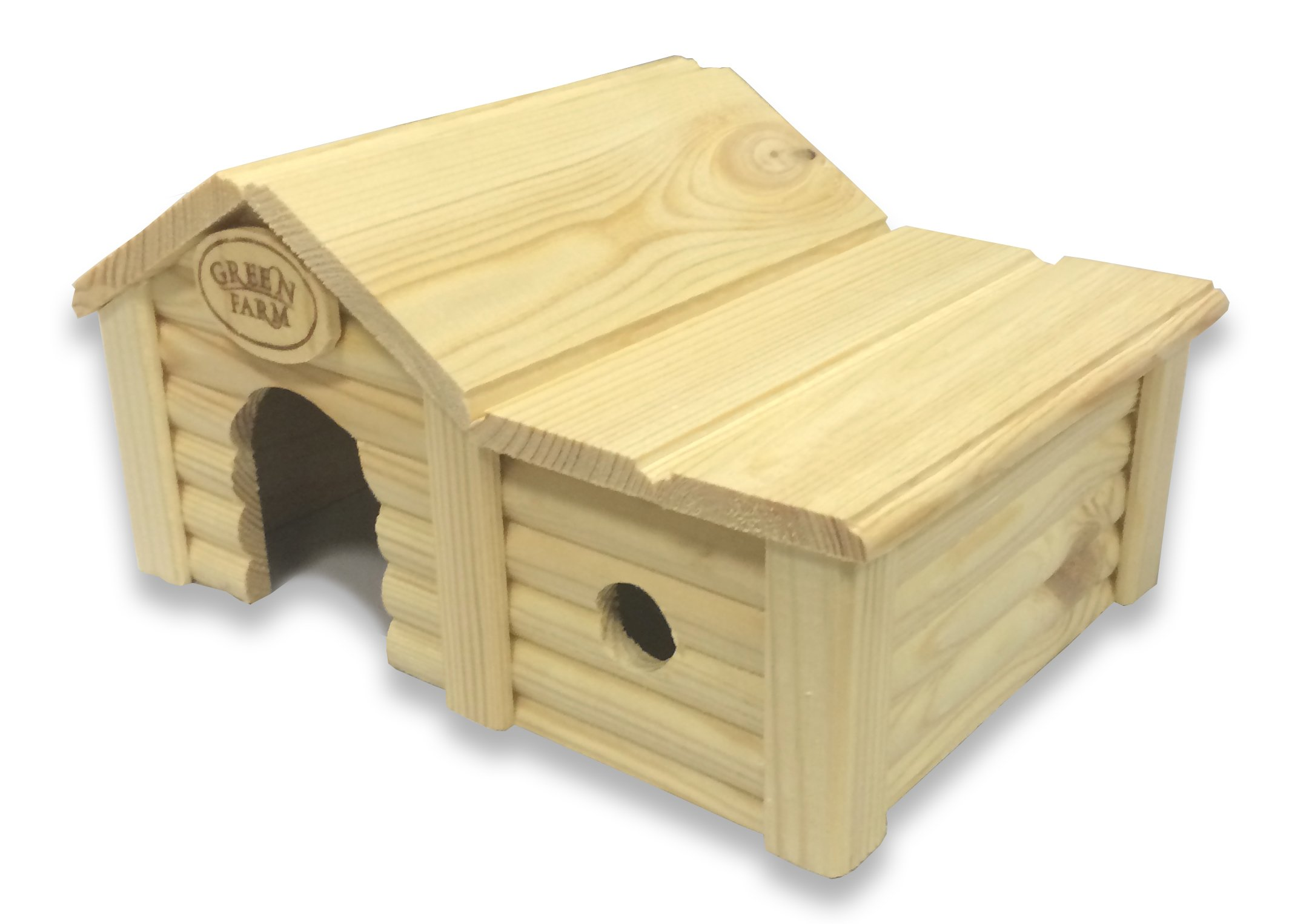 Green Farm Small Animal House with Annex for Hamsters and Mice by Green Farm (Image #2)