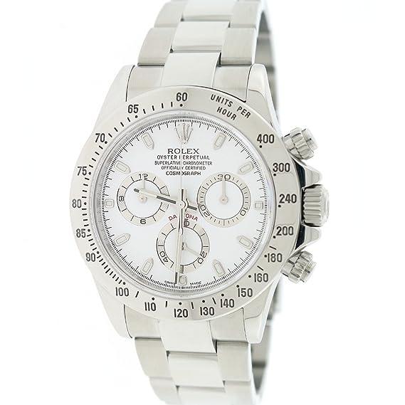 Rolex Daytona automatic-self-wind 116520 – Reloj para hombre (Certificado) de