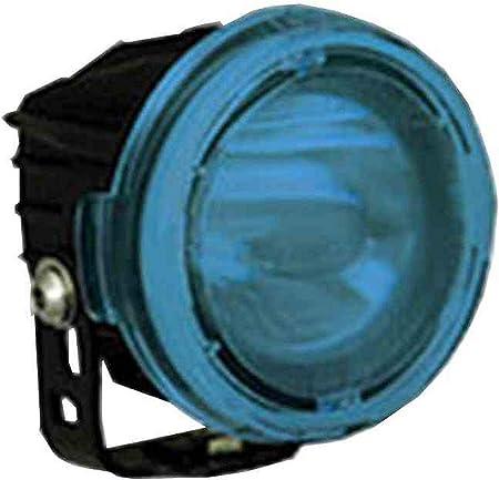 10 Watt LED Red//Blue//Amber 120-240V AC 650 Foot Spot Beam -Blue-60/° Flood High Intensity Colored LED Light
