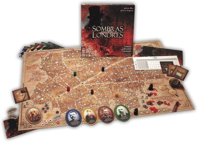 Devir - Sombras sobre Londres, Juego de Mesa (BGSOLO): Amazon.es: Juguetes y juegos