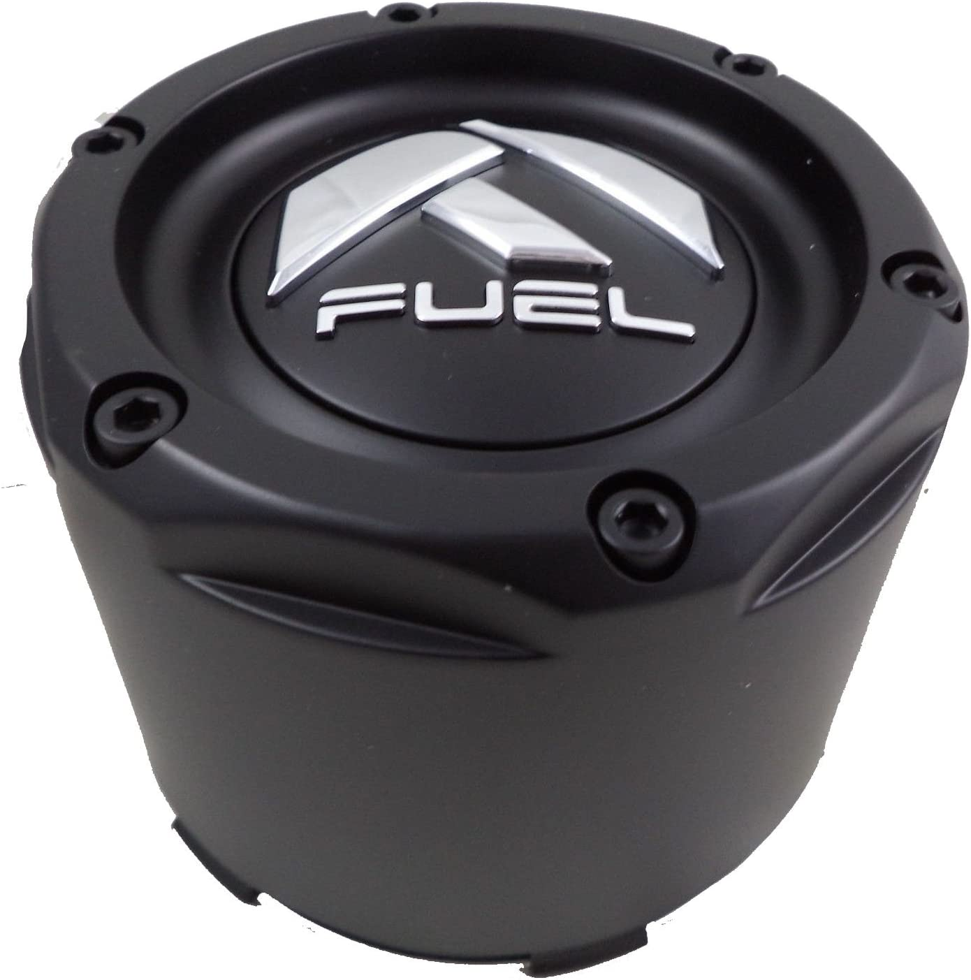 Fuel Matte Black Custom Wheel Center Caps Set of One 1003-50MB 1