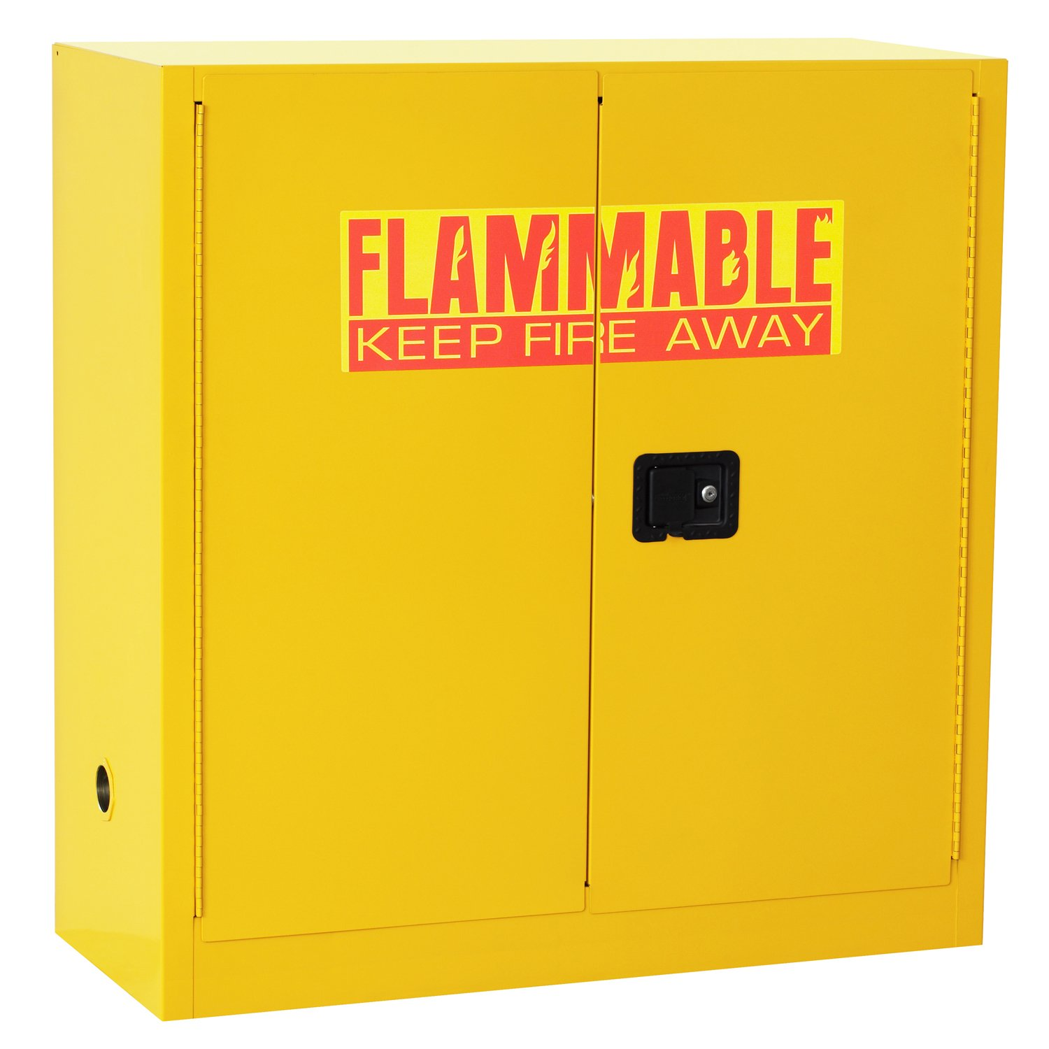 Yellow Flammable Cabinet Sandusky Lee Sc300f Yellow Steel Safety Cabinet For Flammable