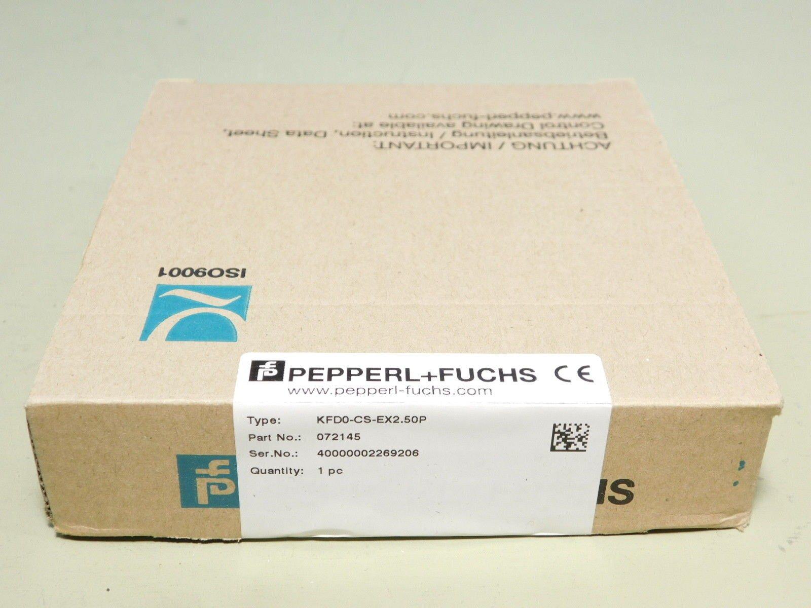 BRAND NEW - Pepperl + Fuchs KFD0-CS-EX2.50P Amplifier Module
