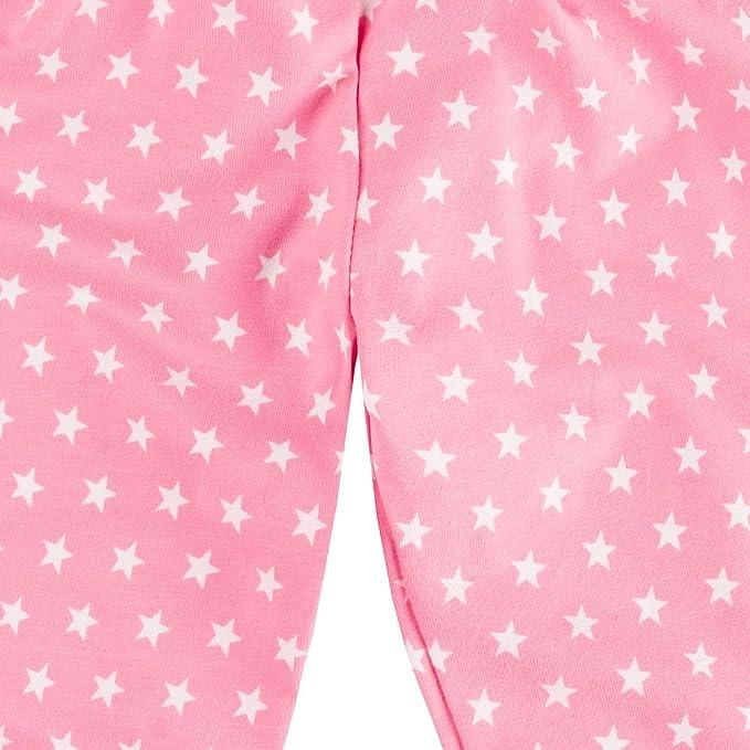 Elli Wunderst/ücke Baby M/ädchen Hose Pumphose Sterne Rosa//Pink