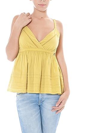 John Galliano - Top 125204 pour Femme  Amazon.fr  Vêtements et ... 2dab676a812
